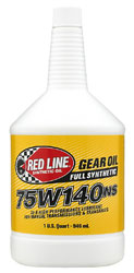 Click for a larger picture of Red Line Synthetic Non-Slip Gear Oil (NS)