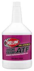 Click for a larger picture of Red Line Synthetic High Temp Automatic Transmission Fluid