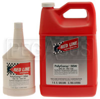 Click for a larger picture of Red Line Synthetic PolyComp Compressor Oil