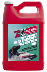 Click for a larger picture of Red Line Synthetic 2-Stroke Watercraft Oil