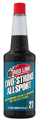 Click for a larger picture of Red Line Synthetic 2-Stroke All Sport Oil