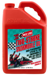 Red Line Synthetic 2 Stroke Snowmobile Oil Pegasus Auto
