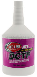 Click for a larger picture of Red Line DCTF Full Synthetic Dual Clutch Transmission Fluid