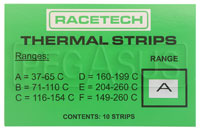 Click for a larger picture of Racetech Multi-Temperature Indicating Stickers