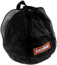 Click for a larger picture of RaceQuip Fleece-Lined Helmet Bag, Black