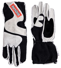 Click for a larger picture of RaceQuip 356 Model 2 Layer Racing Gloves, SFI-5