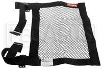 "Click for a larger picture of Mesh Net with Adjustable Mount Straps, SFI 27.1, 15"" x 18"""