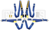 Click for a larger picture of Sabelt A622 Endurance 2x2 FIA Harness, PU/PD, Blk, Old Date