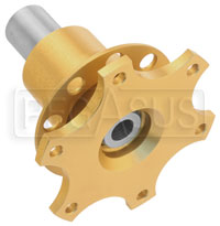 Click for a larger picture of Lifeline Weld-On 6 Hole Quick Release Steering Hub, FIA