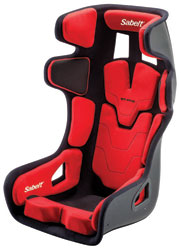 Click for a larger picture of Sabelt Pad Kit for GT-Pad Seat, Medium Red
