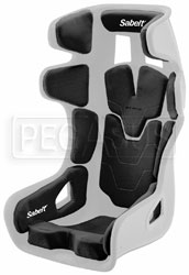 Click for a larger picture of (SL) Sabelt GT-Pad Seat, Shell Only, X-Large, FIA 8855-1999
