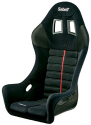 Click for a larger picture of (SL) Sabelt Titan Carbon Seat, Size Large, FIA 8855-1999