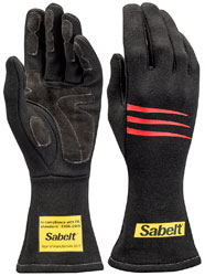 Click for a larger picture of Sabelt Challenge TG-3 Racing Glove, FIA 8856-2000