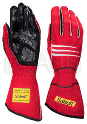 Click for a larger picture of Sabelt Hero TG-9 Driving Glove, FIA 8856-2000