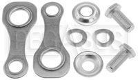 Click for a larger picture of Schroth B23A Bolt-In Mount Kit for Snap-In Belts, 2 Ends