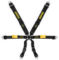 """Click for a larger picture of Schroth Enduro 3x2 FIA Harness, 3"""" Shoulder 2"""" Lap Pull Down"""