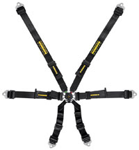 "Click for a larger picture of Schroth Flexi 2x2 FIA Harness, 2"" Shoulder 2"" Lap, PU/PD"