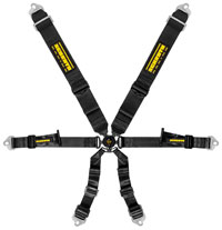 "Click for a larger picture of Schroth Profi 3x2 FIA Harness, 3"" Shoulder 2"" Lap, Pull Up"