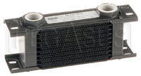 Click for a larger picture of Setrab Series 1 Oil Cooler, 10 Row, M22 Ports