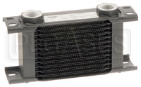 Click for a larger picture of Setrab Series 1 Oil Cooler, 13 Row, M22 Ports