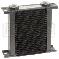 Click for a larger picture of Setrab Series 1 Oil Cooler, 25 Row, M22 Ports