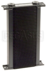 Click for a larger picture of Setrab Series 1 Oil Cooler, 44 Row, M22 Ports