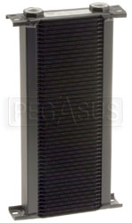 Click for a larger picture of Setrab Series 1 Oil Cooler, 50 Row, M22 Ports