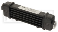 Click for a larger picture of Setrab SLM Series Oil Cooler, 6 Row, M22 Ports, 141mm Core