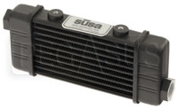 Click for a larger picture of Setrab SLM Series Oil Cooler, 10 Row, M22 Ports, 141mm Core