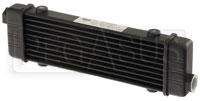 Click for a larger picture of Setrab SLM Series Oil Cooler, 10 Row, M22 Ports, 250mm Core