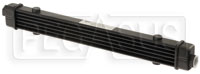 Click for a larger picture of Setrab SLM Series Oil Cooler, 6 Row, M22 Ports, 420mm Core
