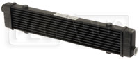 Click for a larger picture of Setrab SLM Series Oil Cooler, 10 Row, M22 Ports, 420mm Core