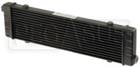 Click for a larger picture of Setrab SLM Series Oil Cooler, 14 Row, M22 Ports, 420mm Core