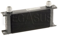 Click for a larger picture of Setrab Series 6 Oil Cooler, 16 Row, AN16 Ports