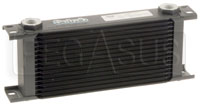 Click for a larger picture of Setrab Series 6 Oil Cooler, 16 Row, M22 Ports