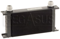 Click for a larger picture of Setrab Series 6 Oil Cooler, 19 Row, AN16 Ports