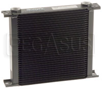 Click for a larger picture of Setrab Series 6 Oil Cooler, 34 Row, M22 Ports