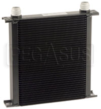 Click for a larger picture of Setrab Series 6 Oil Cooler, 40 Row, AN16 Ports