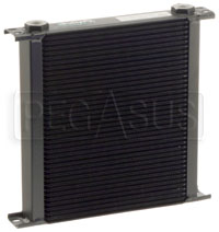 Click for a larger picture of Setrab Series 6 Oil Cooler, 40 Row, M22 Ports