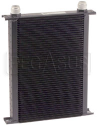 Click for a larger picture of Setrab Series 6 Oil Cooler, 50 Row, AN16 Ports