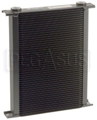Click for a larger picture of Setrab Series 6 Oil Cooler, 50 Row, M22 Ports