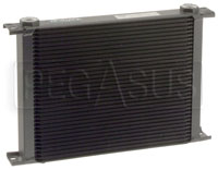Click for a larger picture of Setrab Series 9 Oil Cooler, 34 Row, M22 Ports