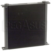 Click for a larger picture of Setrab Series 9 Oil Cooler, 48 Row, M22 Ports