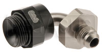 Click for a larger picture of Setrab M22 to 6AN Male Adapter, 90 Degree