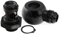 Click for a larger picture of Setrab M22 to 10AN Banjo Adapter Kit, 90 Degree