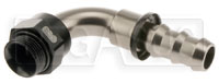 Click for a larger picture of Setrab M22 to 10AN Pushlock Hose Barb, 90 Degree