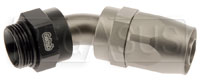 Click for a larger picture of Setrab M22 to 10AN Reusable Hose End, 45 Degree