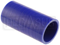 Click for a larger picture of Blue Silicone Hose Coupler, 2 inch ID, 4 inch Length