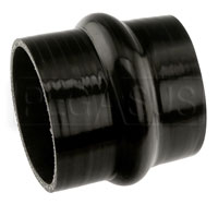 Click for a larger picture of Black Silicone Hump Hose, 3 1/2 inch ID