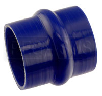 Click for a larger picture of Blue Silicone Hump Hose, 3 1/2 inch ID